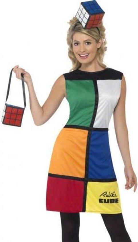 kubus jurk met hoed en tas 44-46 (l)