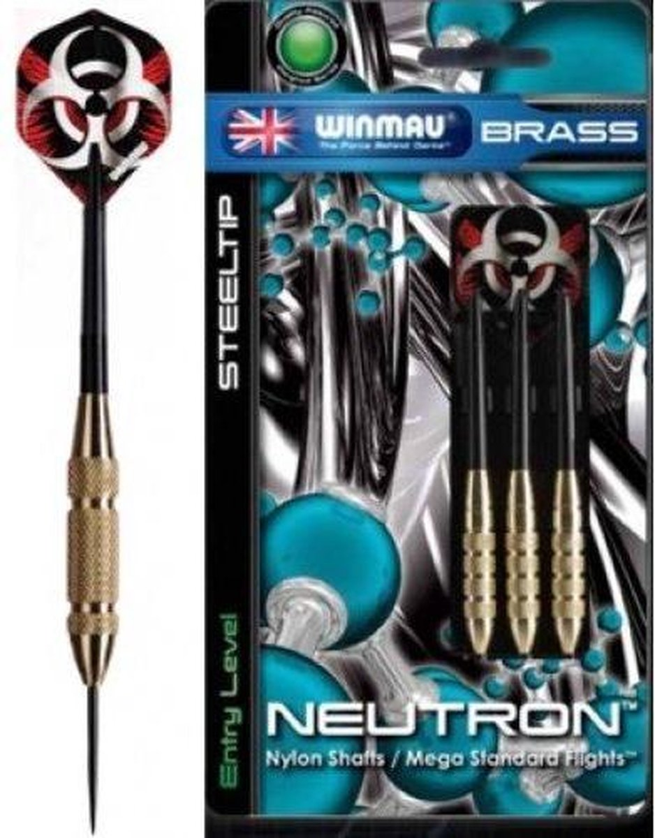 Winmau Neutron 25 gr. Brass
