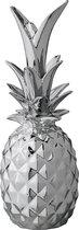 Bloomingville deco ananas in zilver