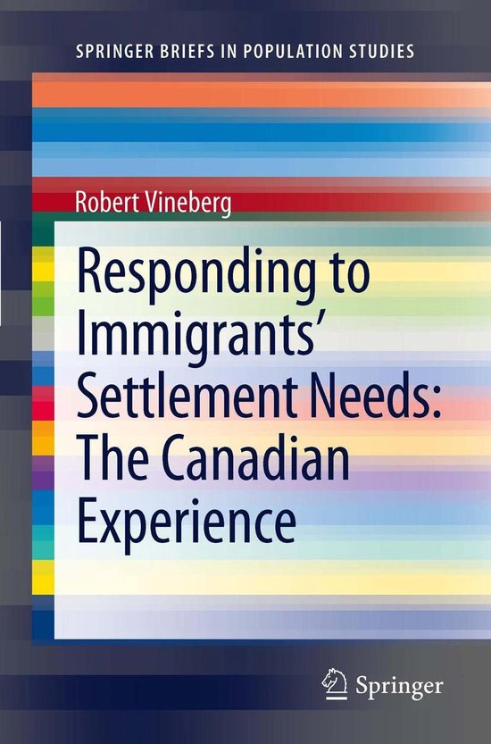 Boek cover Responding to Immigrants Settlement Needs: The Canadian Experience van Robert Vineberg (Onbekend)