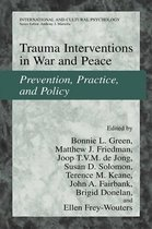 Omslag Trauma Interventions in War and Peace