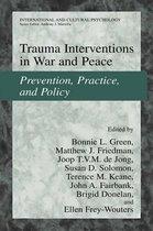 Boekomslag van 'Trauma Interventions in War and Peace'