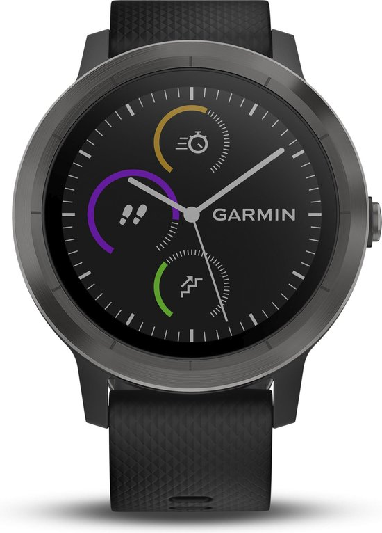 Garmin Vivoactive 3 - Smartwatch - 43 mm - Zwart