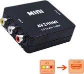 AV naar HDMI converter - RCA tulp naar HDMI omvormer