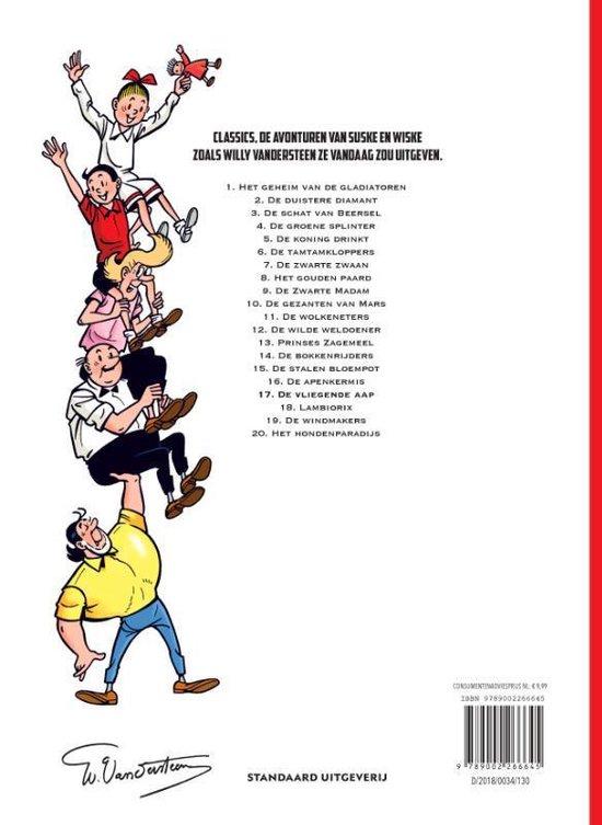 Suske en Wiske Classics 17 -   De vliegende aap - Willy Vandersteen