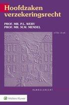 Boek cover Hoofdzaken verzekeringsrecht van P.L. Wery (Paperback)