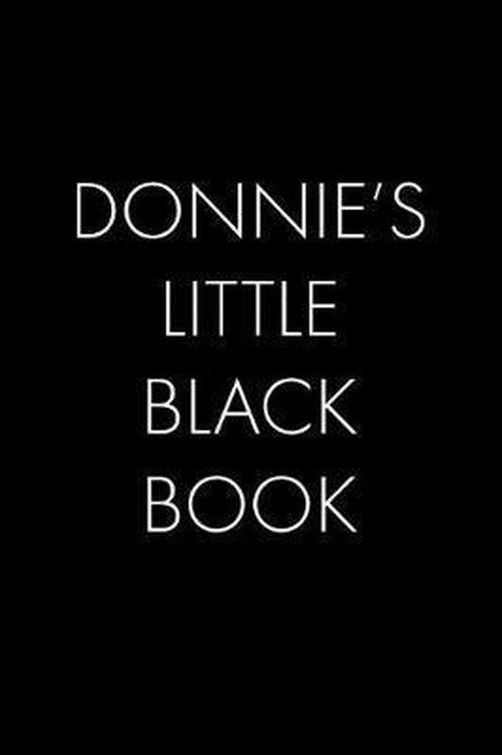 Donnie's Little Black Book