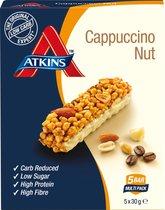 Atkins Day break capuccino nut - 5 x 30 gram