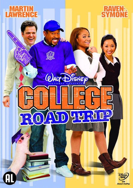 Cover van de film 'College Road Trip'