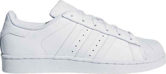 declarar caja marxismo  bol.com | adidas Superstar Foundation Junior Sneakers - Maat 36 - Unisex -  wit