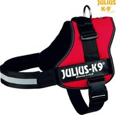 Julius K9 IDC Powertuig/Harnas - Maat 3/82-118cm - XXL - Rood