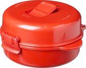 Sistema Microwave Omeletmaker - Ventileerklep - 271ml - Rood