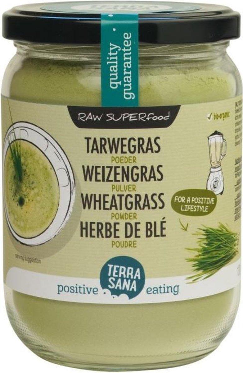Terrasana Raw Tarwegras poeder