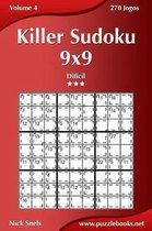 Killer Sudoku 9x9 - Dif cil - Volume 4 - 270 Jogos