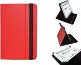Uniek Hoesje voor de Odys One - Multi-stand Cover, Rood, merk i12Cover