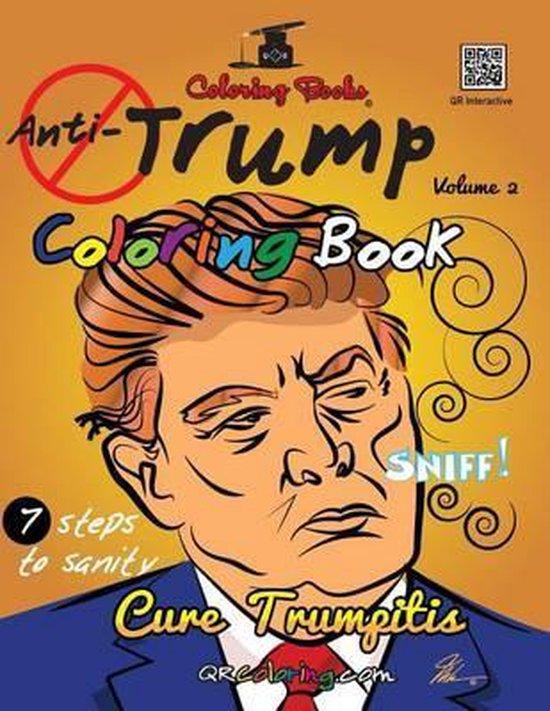 Afbeelding van The Anti-Trump Coloring Book