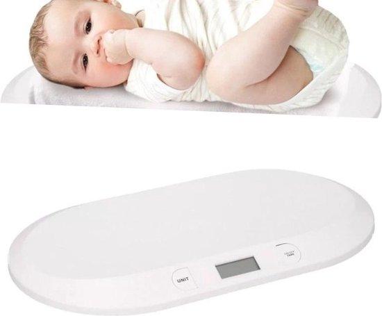 Digitale Babyweegschaal - Elektronische Baby Weegschaal - Peuterweegschaal