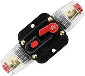 100A 12V-24V Inline stroomonderbreker Handmatige reset schakelaar Zekering
