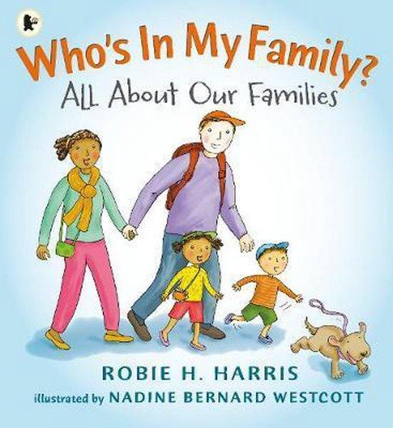 Boek cover Whos In My Family? van Robie H. Harris (Paperback)