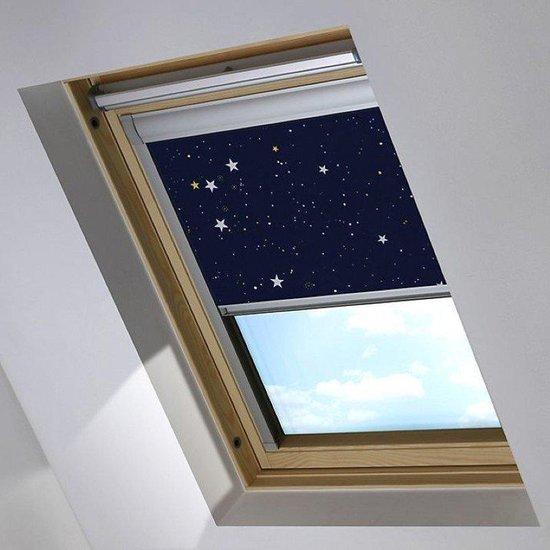 Bloc verduisterend dakraamgordijn geschikt voor Fakro FTP 12 (134/98), Night Sky