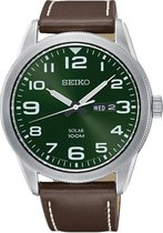 Seiko SNE473P1 horloge heren - bruin - edelstaal