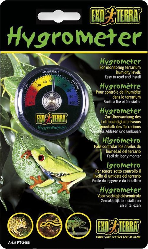 Exo Terra Analoge Hygrometer - Exo Terra