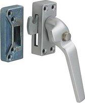 Nemef 54PK/4 rechts - Veiligheidsraamsluiting - Voor ramen - Knopbediening - Haakschoot - In zichtverpakking met stap-voor-stap montagehandleiding en bevestigingsmateriaal