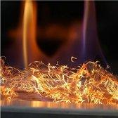 Kratki- Glow Flame Glazing / Glow flame fiber