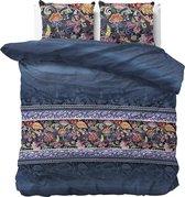 Sleeptime Paisley - Dekbedovertrekset - Lits-Jumeaux - 240x200/220 + 2 kussenslopen 60x70 - Blauw