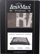 Lex & Max Raw Unclassified - Losse hoes voor hondenkussen  - Boxbed - Taupe - 120x80x9cm