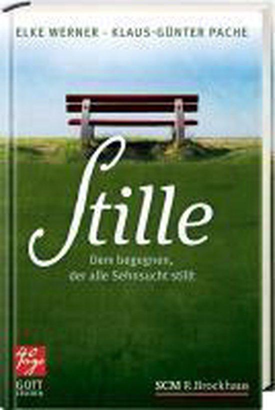 Boek cover Stille van Klaus-Günter Pache (Hardcover)