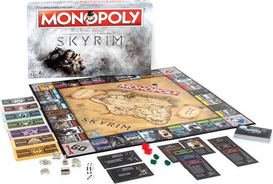 Monopoly Skyrim - Bordspel - Engelstalig - Winning Moves