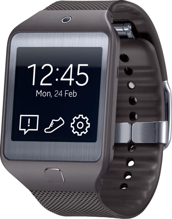 Samsung R3810 Galaxy Gear2 NEO smartwatch - charcoal black
