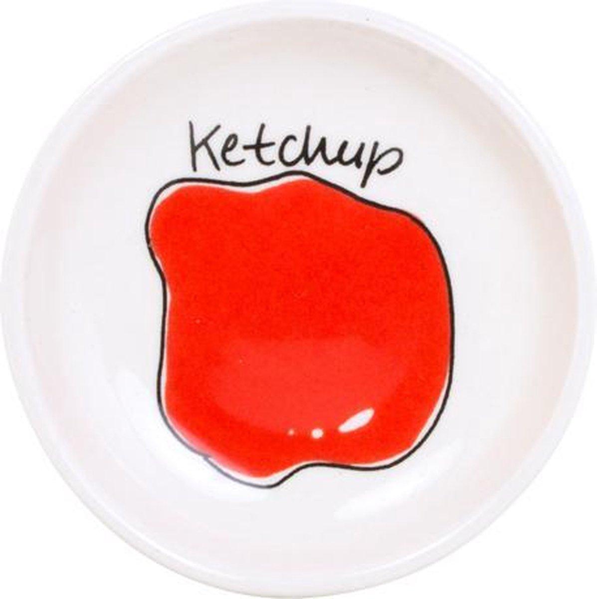 Blond Amsterdam Snack Schaaltje Ketchup - Ø 8 cm