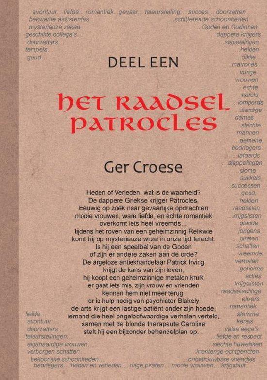 Het raadsel van patrocles 1 - Ger Croese | Fthsonline.com