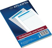 Atlanta orderboek 185 x 110 mm 2 x 50 vel