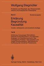 Statistische Erklarungen. Deduktiv-Nomologische Erklarungen in Prazisen Modellsprachen Offene Probleme