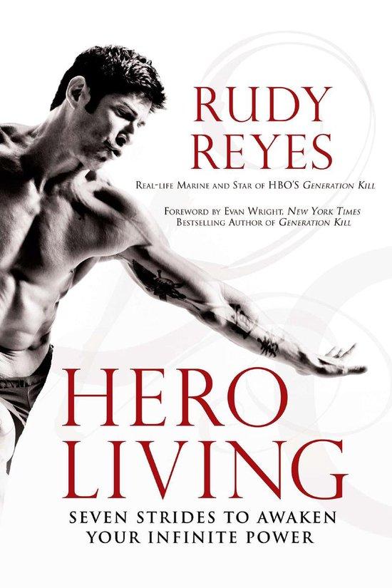 Boek cover Hero Living van Rudy Reyes (Paperback)