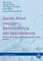 Boek cover Soziale Arbeit zwischen Generalisierung und Spezialisierung van