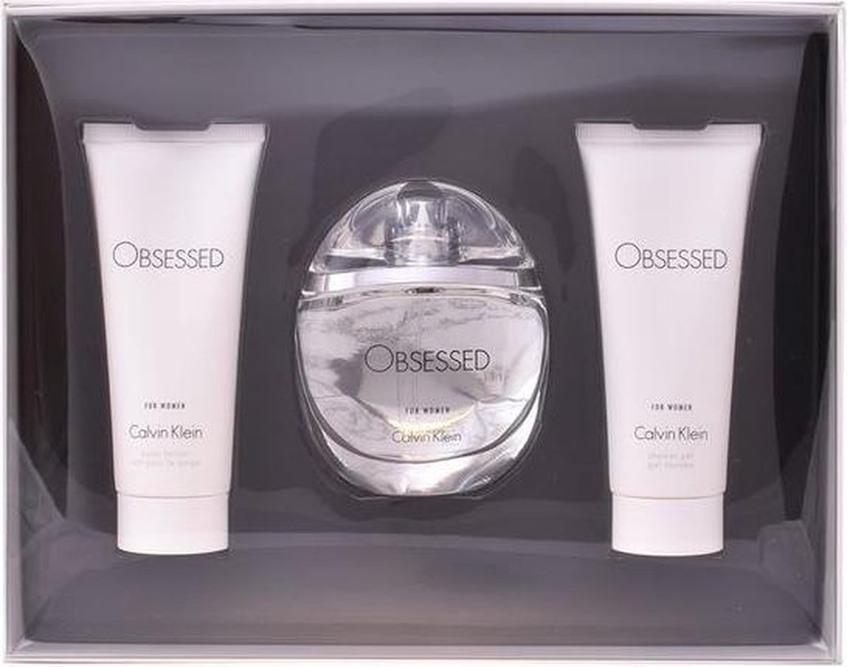 Obsessed For Women Lote 3 pz - Calvin Klein