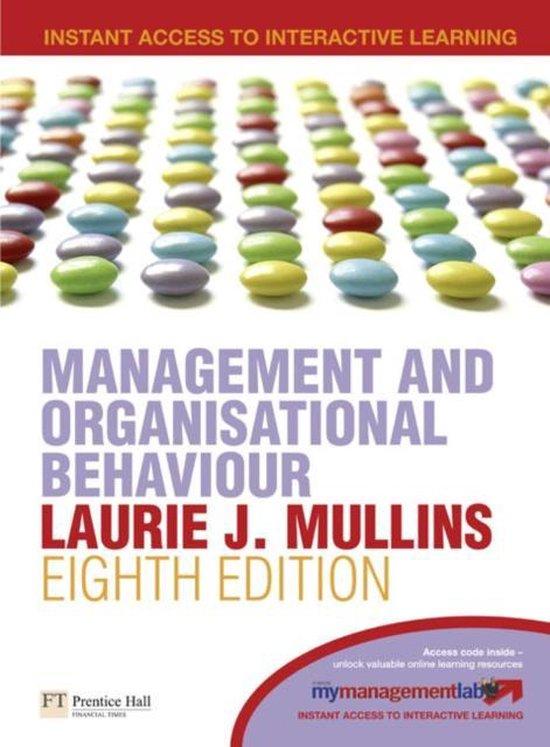 Boek cover Management and Organisational Behaviour van Laurie J. Mullins (Paperback)