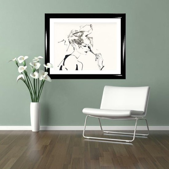 Homedecoration Colorado – Fotolijst – Fotomaat – 40 x 75 cm – Hoogglans zwart