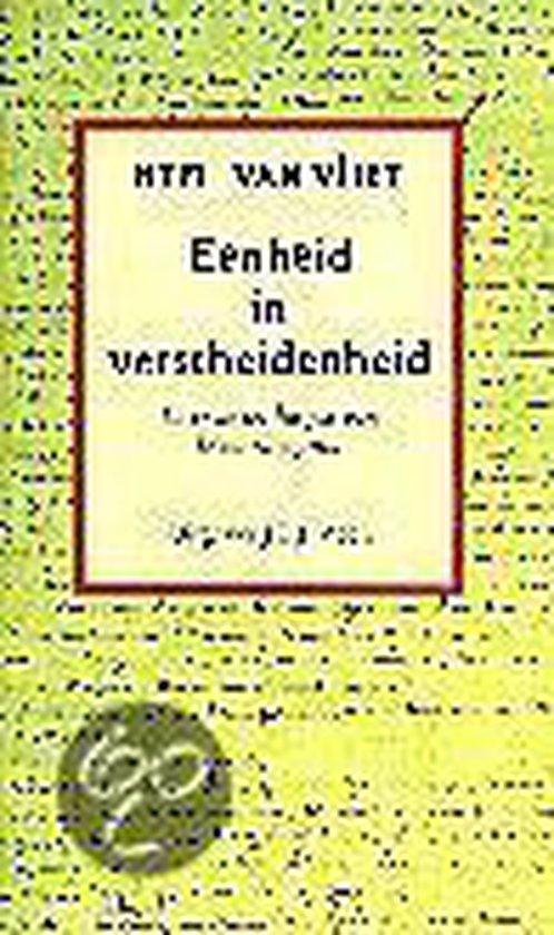 Eenheid in verscheidenheid - H.T.M. van Vliet pdf epub
