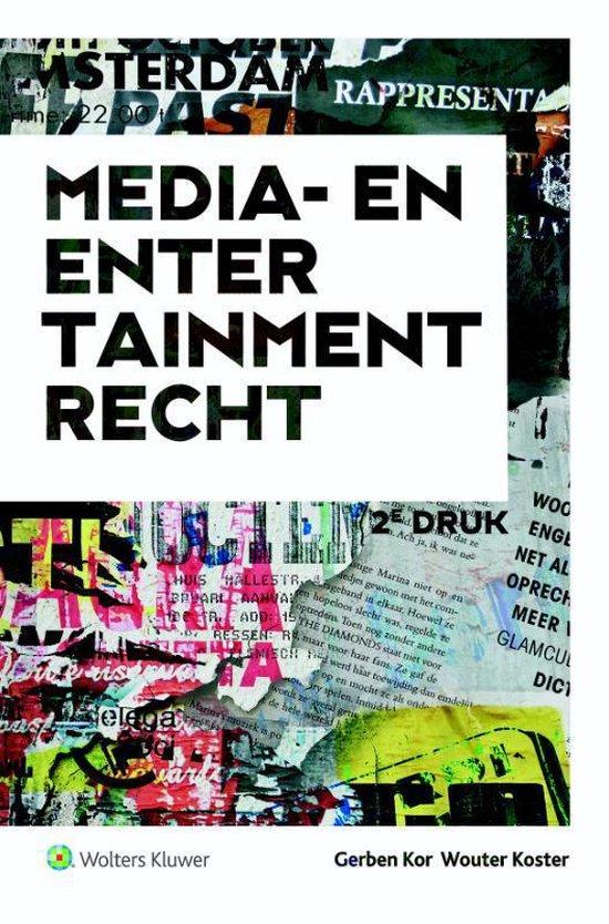 Media- en entertainmentrecht - Gerben Kor |