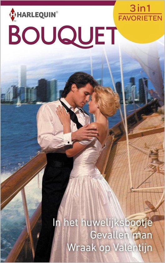 Bouquet Favorieten 516 - In het huwelijksbootje ; Gevallen man ; Wraak op Valentijn (3-in-1) - Sharon Kendrick |