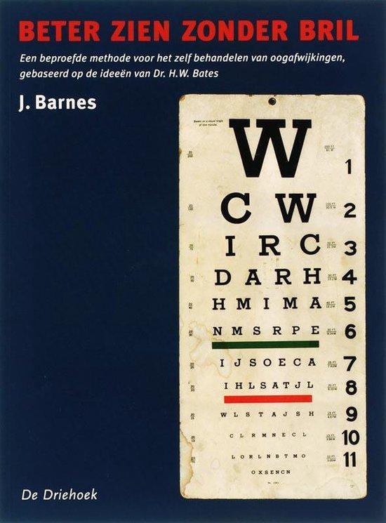 Beter zien zonder bril - Jonathan Barnes | Fthsonline.com