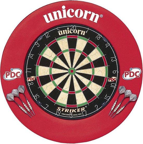 Afbeelding van het spel Unicorn Striker Dartbord Met Dartbordring 68 Cm