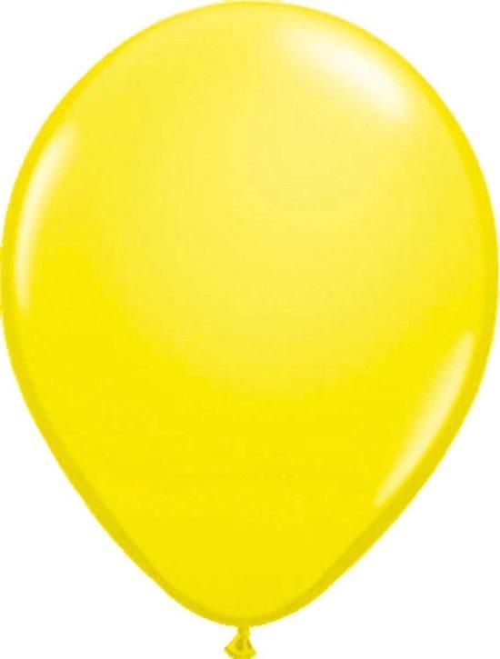 Ballonnen Metallic Geel 100 stuks