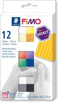 Fimo effect set - colour pack 12 st