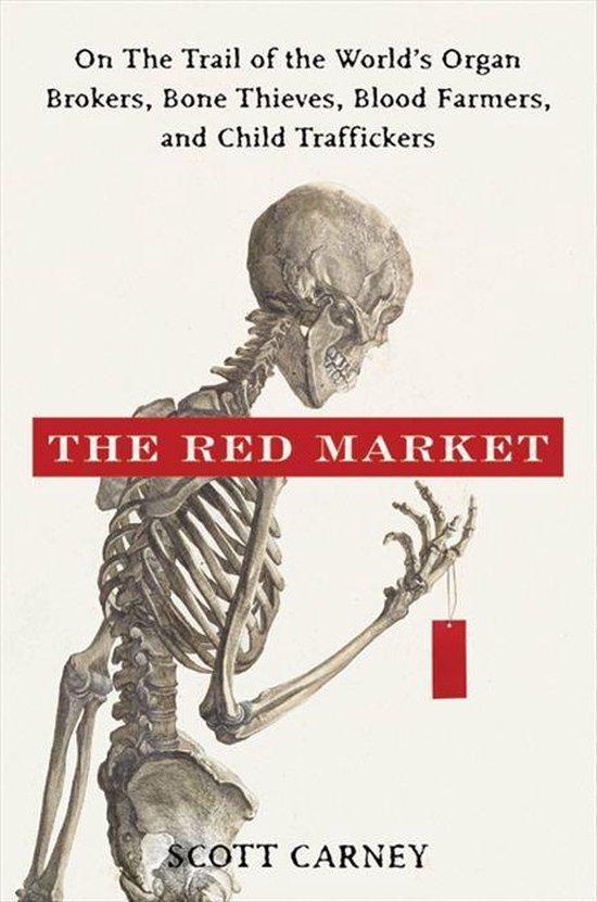Boek cover The Red Market van Scott Carney (Onbekend)